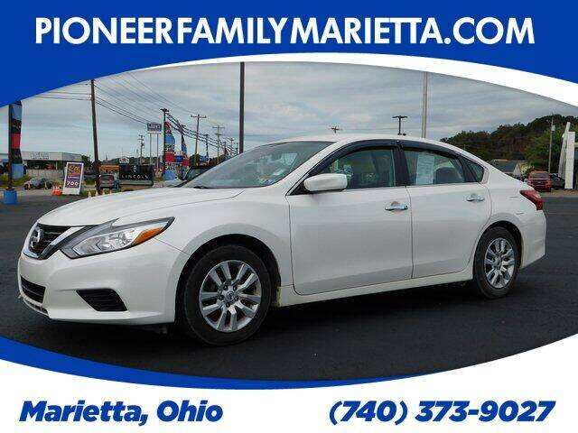 2016 Nissan Altima for sale at Pioneer Family preowned autos in Williamstown WV