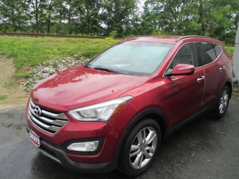 2013 Hyundai Santa Fe Sport for sale at Percy Bailey Auto Sales Inc in Gardiner ME