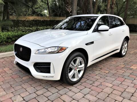 2017 Jaguar F-PACE for sale at DENMARK AUTO BROKERS in Riviera Beach FL