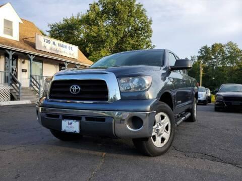 2008 Toyota Tundra for sale at Mega Motors in West Bridgewater MA