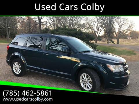 2013 Dodge Journey for sale at Used Cars Colby in Colby KS