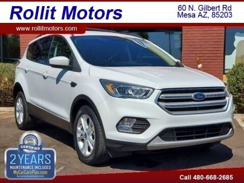 2018 Ford Escape for sale at Rollit Motors in Mesa AZ