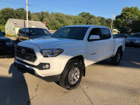 2017 Toyota Tacoma for sale at First Hot Line Auto Sales Inc. & Fairhaven Getty in Fairhaven MA