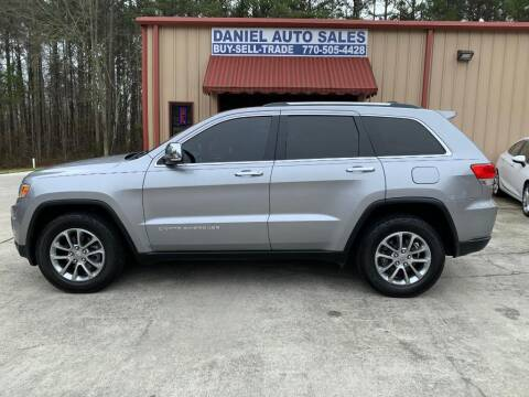 2015 Jeep Grand Cherokee for sale at Daniel Used Auto Sales in Dallas GA