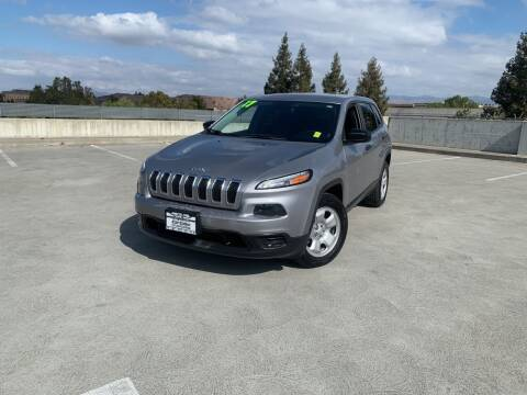 2017 Jeep Cherokee for sale at BAY AREA CAR SALES in San Jose CA