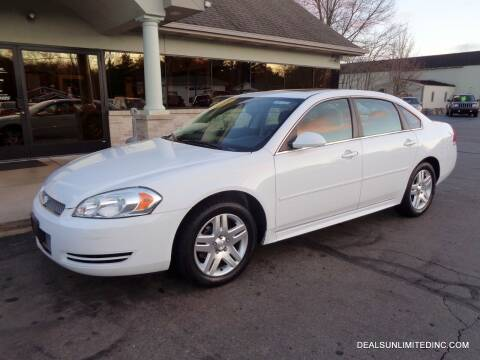 2014 Chevrolet Impala Limited for sale at DEALS UNLIMITED INC in Portage MI