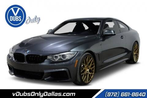 2015 BMW 4 Series for sale at VDUBS ONLY in Dallas TX