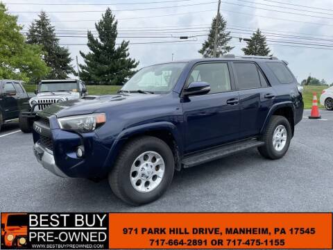 2016 Toyota 4Runner for sale at Best Buy Pre-Owned in Manheim PA