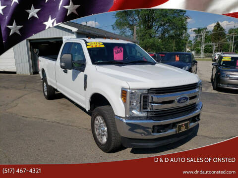 2018 Ford F-250 Super Duty for sale at D & D Auto Sales Of Onsted in Onsted MI