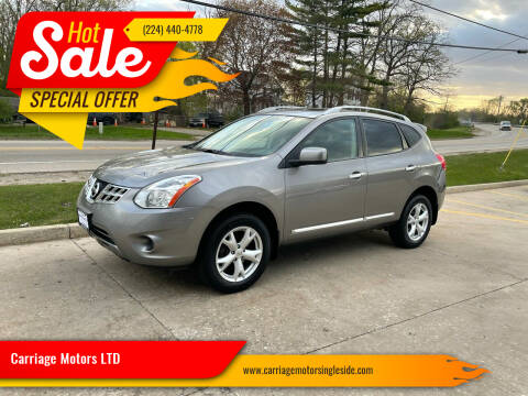 2011 Nissan Rogue for sale at Carriage Motors LTD in Ingleside IL