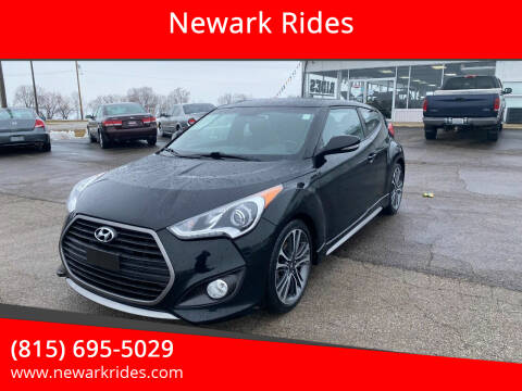 2016 Hyundai Veloster for sale at Newark Rides in Newark IL