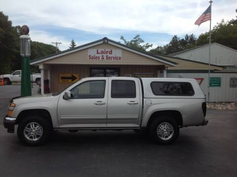 2011 Chevrolet Colorado for sale at LAIRD SALES AND SERVICE in Muskegon MI