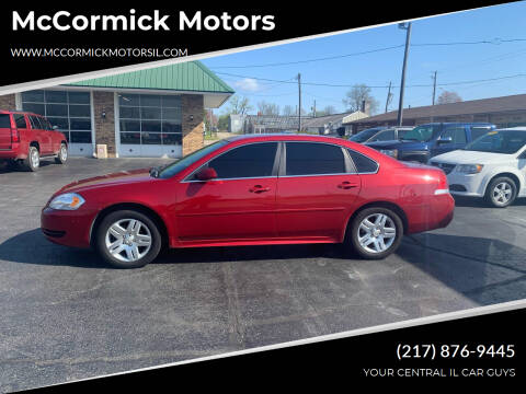 2014 Chevrolet Impala Limited for sale at McCormick Motors in Decatur IL