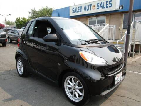 2009 Smart fortwo for sale at Salem Auto Sales in Sacramento CA