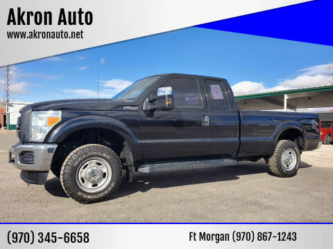 2014 Ford F-250 Super Duty for sale at Akron Auto in Akron CO