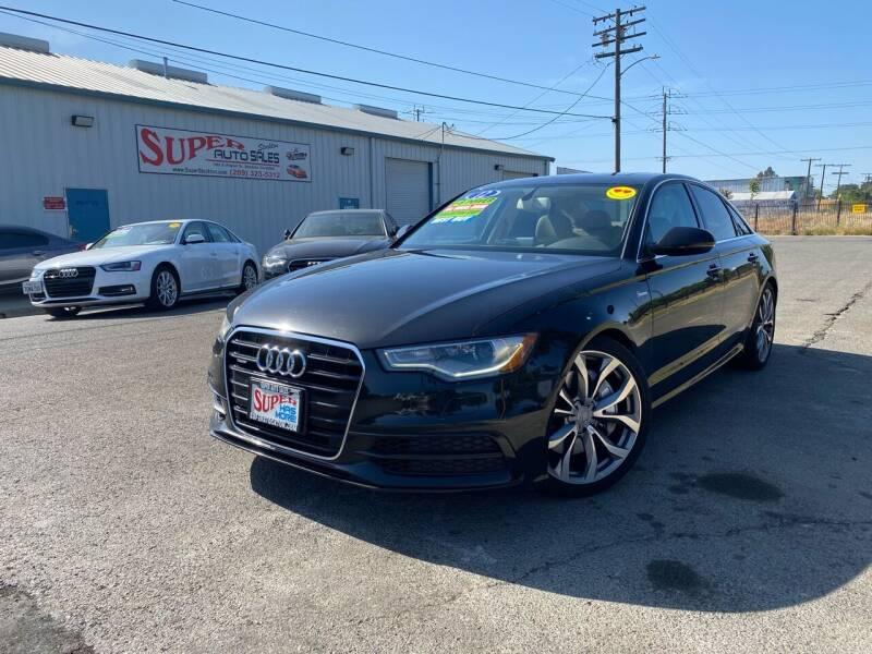 2012 Audi A6 for sale at SUPER AUTO SALES STOCKTON in Stockton CA