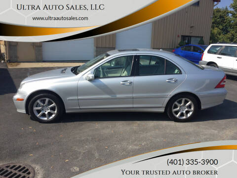 2007 Mercedes-Benz C-Class for sale at Ultra Auto Sales, LLC in Cumberland RI