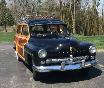 1949 Mercury Woody Wagon for sale at Masterpiece Motorcars in Germantown WI
