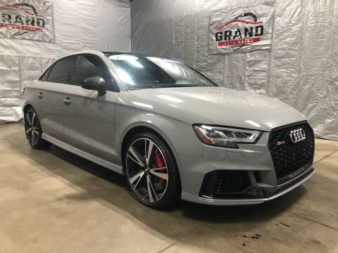 2018 Audi RS 3 for sale at GRAND AUTO SALES in Grand Island NE
