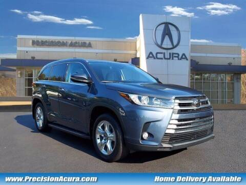 2018 Toyota Highlander for sale at Precision Acura of Princeton in Lawrence Township NJ