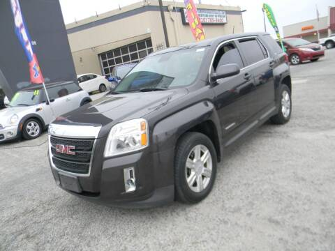 2014 GMC Terrain for sale at Meridian Auto Sales in San Antonio TX