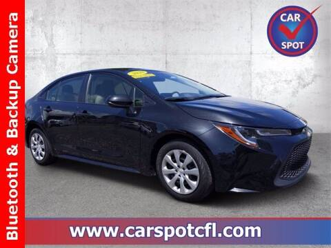 2020 Toyota Corolla for sale at Car Spot Of Central Florida in Melbourne FL