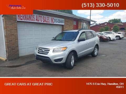 2012 Hyundai Santa Fe for sale at HERMANOS AUTO SALES INC in Hamilton OH
