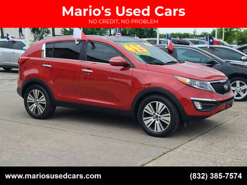2015 Kia Sportage for sale at Mario's Used Cars in Houston TX