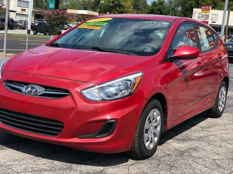 2017 Hyundai Accent for sale at Apex Knox Auto in Knoxville TN
