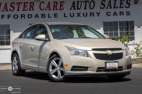 2012 Chevrolet Cruze for sale at Mastercare Auto Sales in San Marcos CA