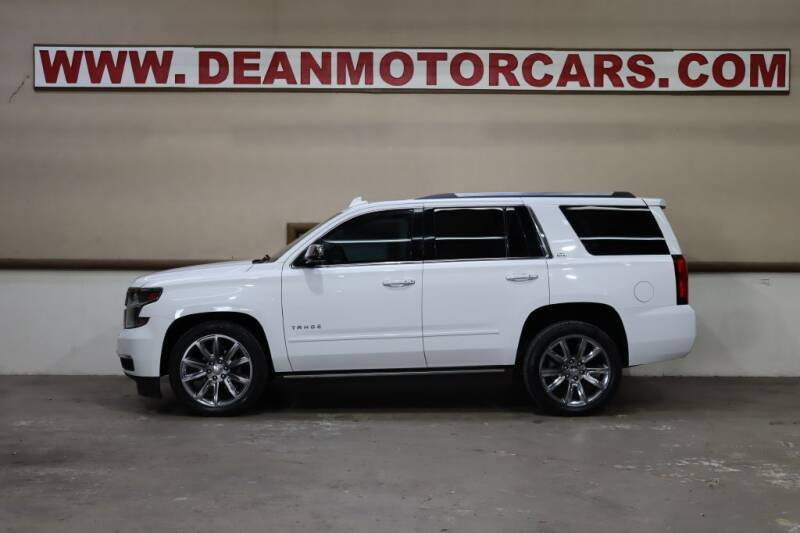 2016 Chevrolet Tahoe for sale at Dean Motor Cars Inc in Houston TX
