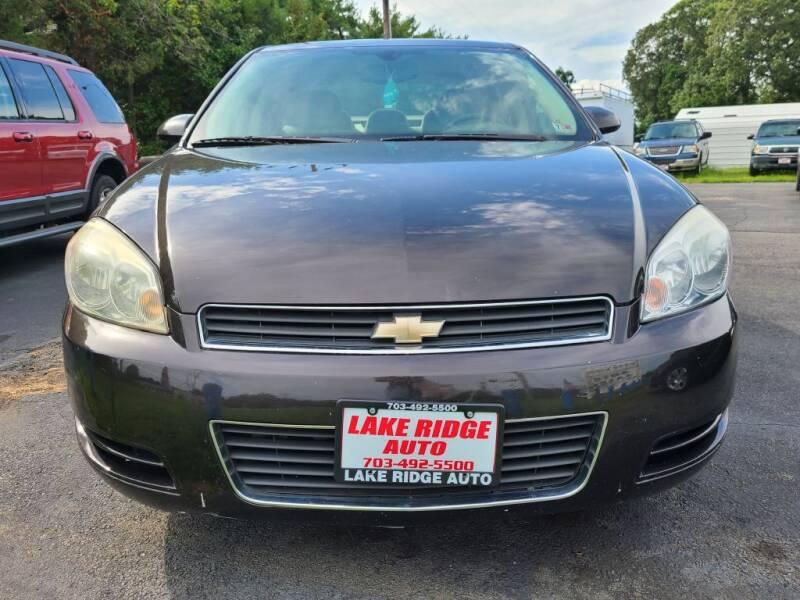 2008 Chevrolet Impala for sale at Lake Ridge Auto Sales in Woodbridge VA
