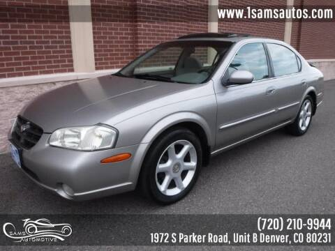 2001 Nissan Maxima for sale at SAM'S AUTOMOTIVE in Denver CO