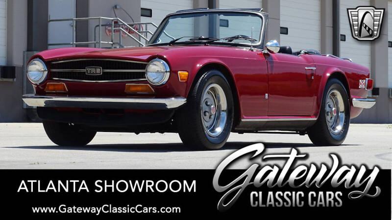 1974 Triumph TR6 for sale in Alpharetta, GA