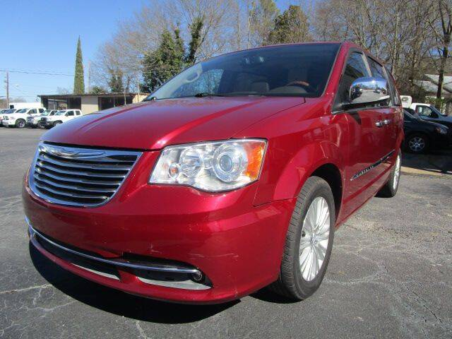 2012 Chrysler Town and Country for sale at Lewis Page Auto Brokers in Gainesville GA