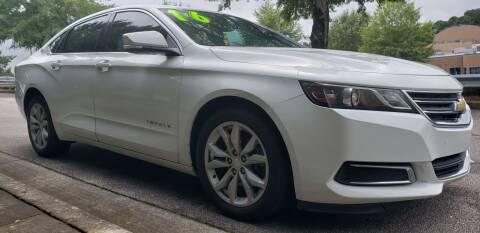 2016 Chevrolet Impala for sale at Chris Motors in Decatur GA