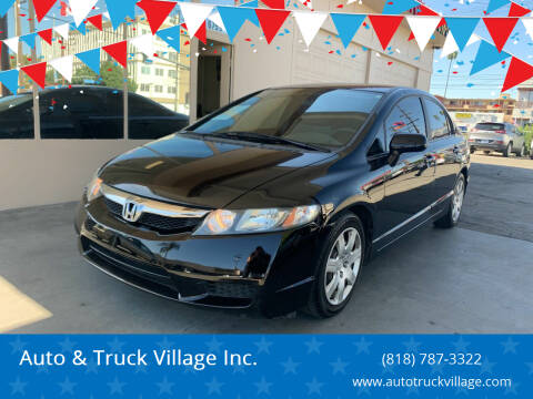 2010 Honda Civic for sale at Auto & Truck Village Inc. in Van Nuys CA