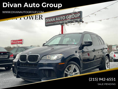 2012 BMW X5 M for sale at Divan Auto Group in Feasterville Trevose PA