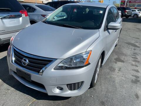 2013 Nissan Sentra for sale at Better Auto in South Darthmouth MA