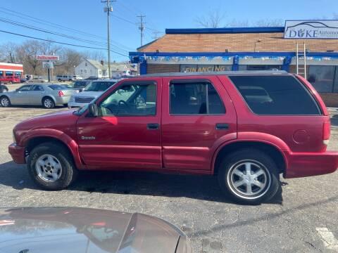 2001 Oldsmobile Bravada for sale at Duke Automotive Group in Cincinnati OH