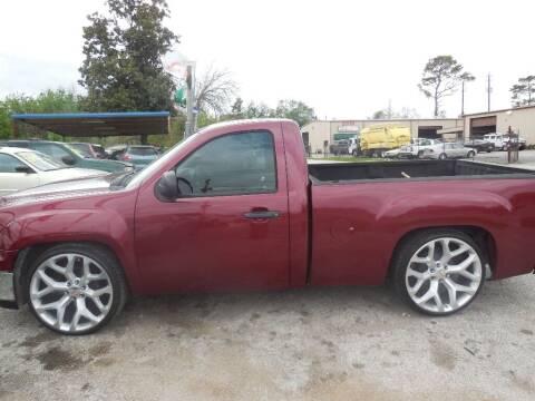 2013 GMC Sierra 1500 for sale at SCOTT HARRISON MOTOR CO in Houston TX
