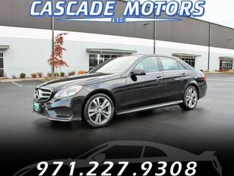 2014 Mercedes-Benz E-Class for sale at Cascade Motors in Portland OR