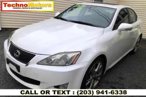 2010 Lexus IS 250 for sale at Techno Motors in Danbury CT