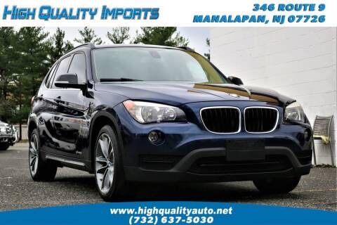 2014 BMW X1 for sale at High Quality Imports in Manalapan NJ