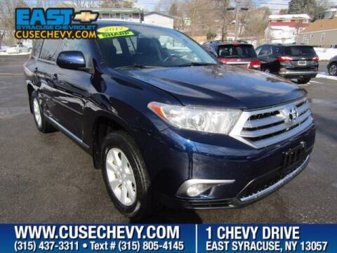 2012 Toyota Highlander for sale at East Syracuse Performance Sales & Service in Syracuse NY