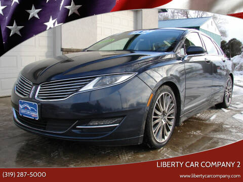 2013 Lincoln MKZ for sale at Liberty Car Company in Waterloo IA