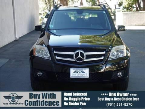 2010 Mercedes-Benz GLK for sale at ASAL AUTOSPORTS in Corona CA