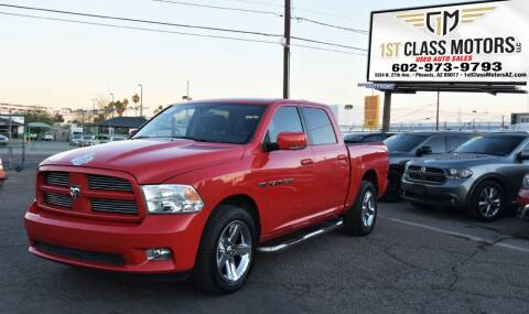 2011 RAM Ram Pickup 1500 for sale at 1st Class Motors in Phoenix AZ
