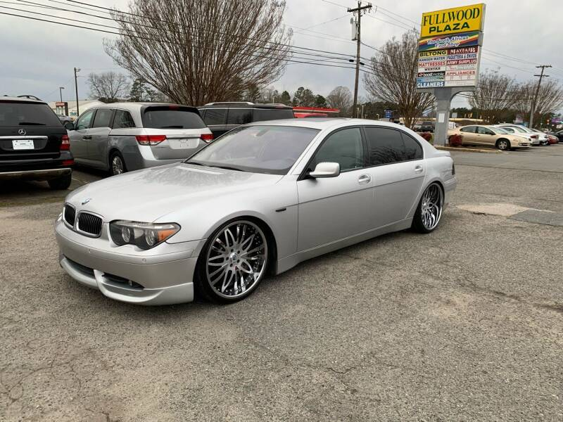 2004 BMW 7 Series for sale at 5 Star Auto in Matthews NC