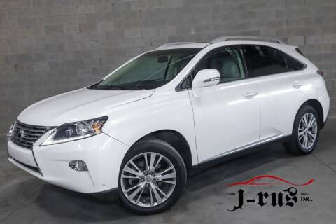 2014 Lexus RX 350 for sale at J-Rus Inc. in Macomb MI